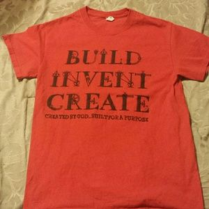 Build and vent create shirt